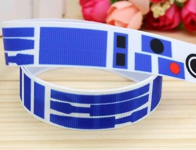 Grossgrain Ribbon 22mm One Metre Craft or Cake NEW Star Wars 7//8 Inch