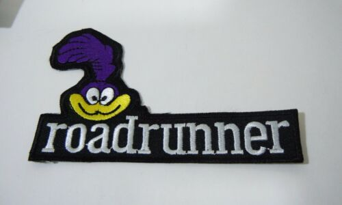 Roadrunner Embroidered Iron-On Patch - 4 1/2 Strip- Looney Tunes