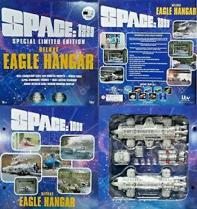 """Sixteen12 Space 1999 12"""" Eagle Hangar Set New Die-cast Metal Models 1 of 1000"""