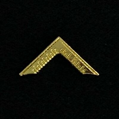 Masonic Master's Square Lapel Pin (WMP-1)