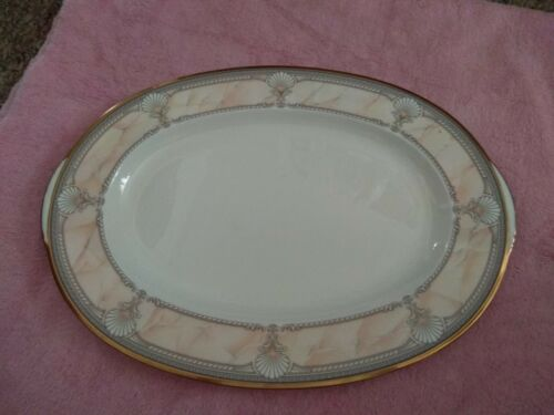 Noritake China PACIFIC MAJESTY 16  Oval Serving Platter EXCELLENT