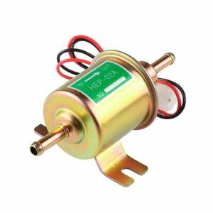12V-Bassa-Pressione-Universale-Elettrico-Pompa-Carburante-in-Linea-Benzina-Diesel-Gas-HEP-02A0
