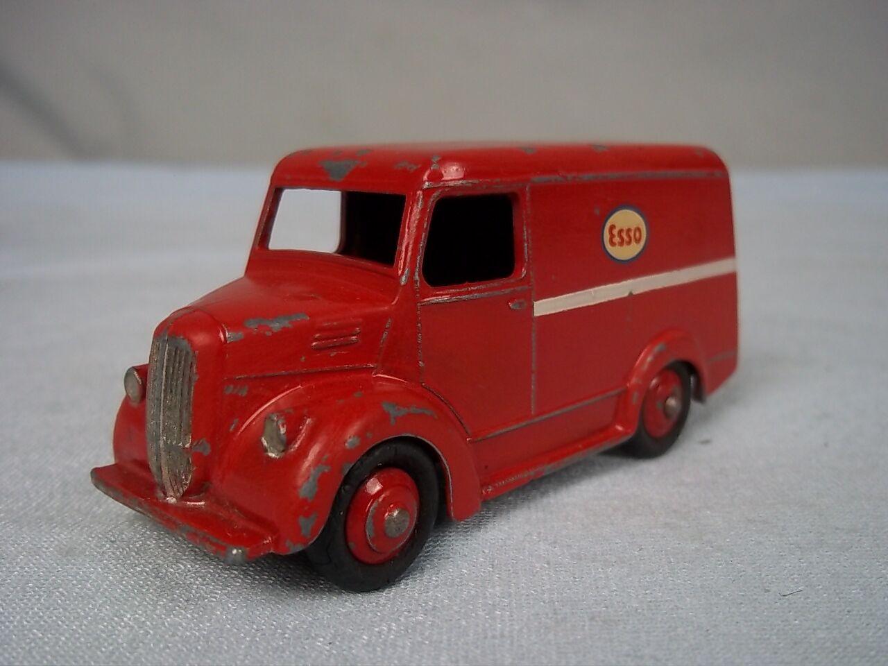Schäbiges spielzeug 1954-57 nr. 450 450 450 rote trojaner  esso  lieferwagen 023244