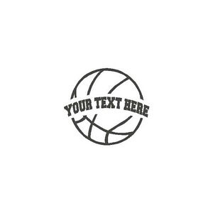 Basketball-YOUR-TEXT-Vinyl-Decal-Sticker-High-School-support-fund-raiser