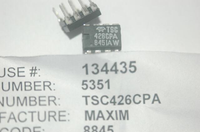 Gate Drivers Dual-Power MOSFET Driver TSC426MJA//883B