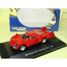 ALFA ROMEO 33/2 AUTODELTA S.P.A. 1968 Rouge TOP MODEL 1:43