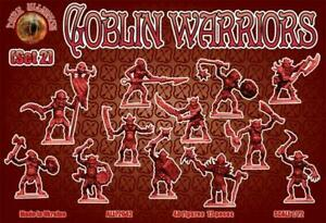 Alerte Dark Alliance All72042 - Goblin Warriors (set 2) - 1:72