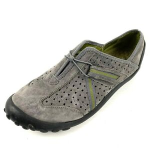 Privo-by-Clarks-039-Tequini-039-36670-Gray-Suede-Active-Slip-on-Loafers-Size-8-Med