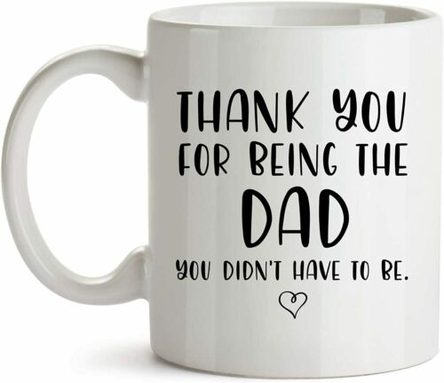 Stepfather Gift From Daughter Fathers Day Bonus-Dad Best Step-Dad Gifts Ever ...