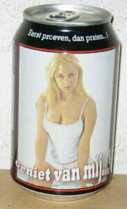 SEXY GIRL B-RAM Bier Beer can from HOLLAND (33cl)  Empty !!
