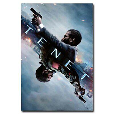 N-316 Tenet Movie Time Runs Out Art Silk Poster 24x36 21