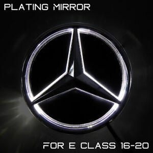 Illuminated Mirror Car Led Logo Emblem Grille Light For Benz E Class 2016-2020