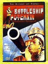 Battleship Potemkin ~ DVD Movie ~ Russian Foreign Language ~ Sergei Eisenstein