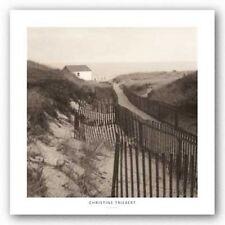 ART PRINT Dune Fence Christine Triebert 20x20