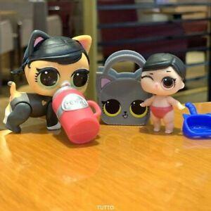 2Pcs-LOL-Uberraschungspuppe-LOL-doll-Lil-Fanime-COSPLAY-CLUB-S-2-Fuzzy-Fun-pet