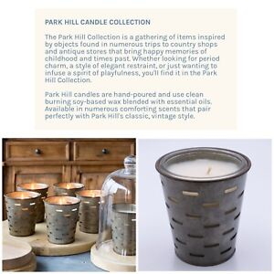 1 Botanical Park Hill Collection Candle Soy Wax Parkhill