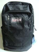 Jansport Boys Trans Megahertz Backpack Black Laptop Book Bag Digital Sleeve