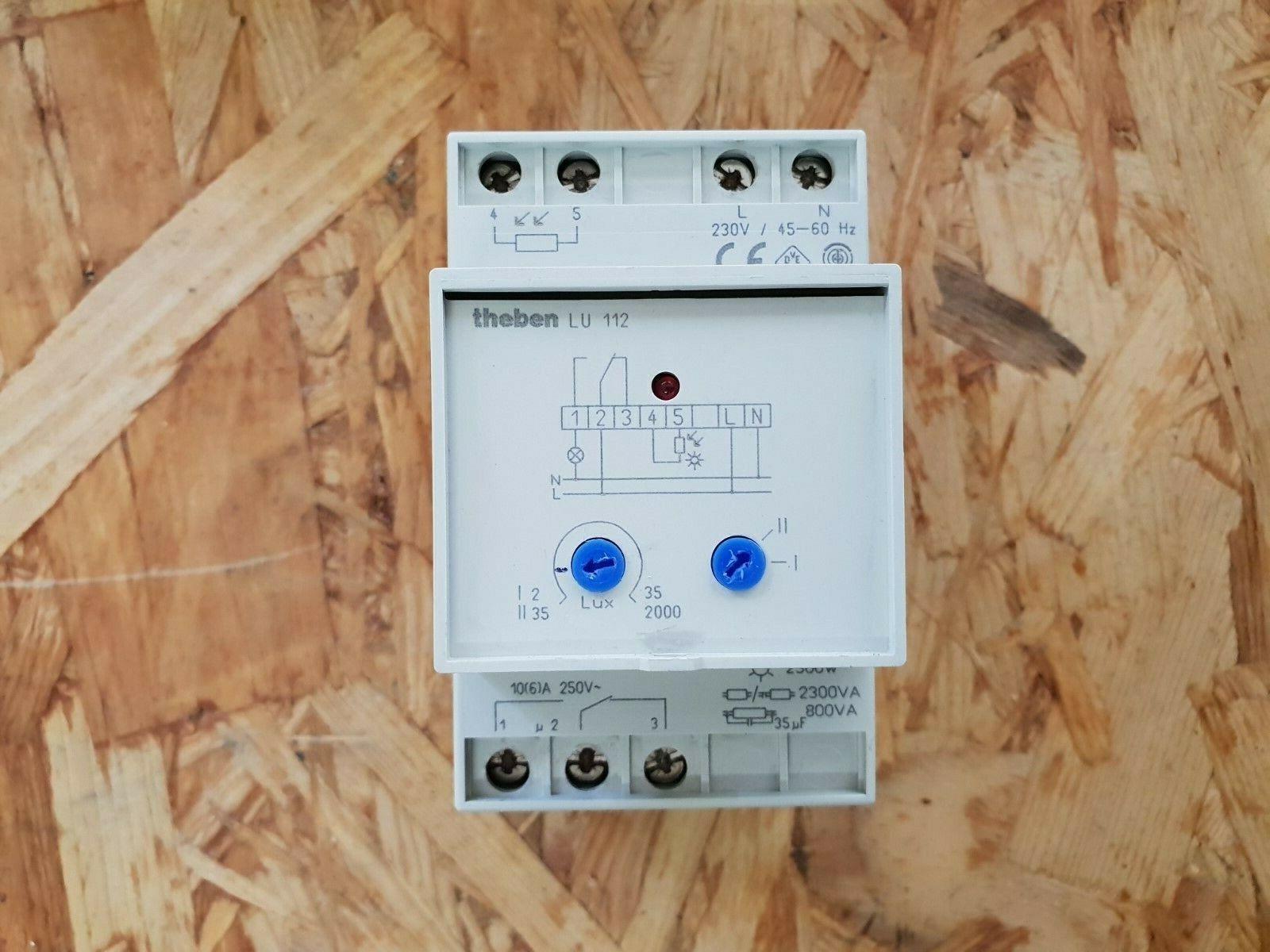 Theben Dämmerungsschalter, Lichsensor LU 112   Wir haben von unseren Kunden Lob erhalten.