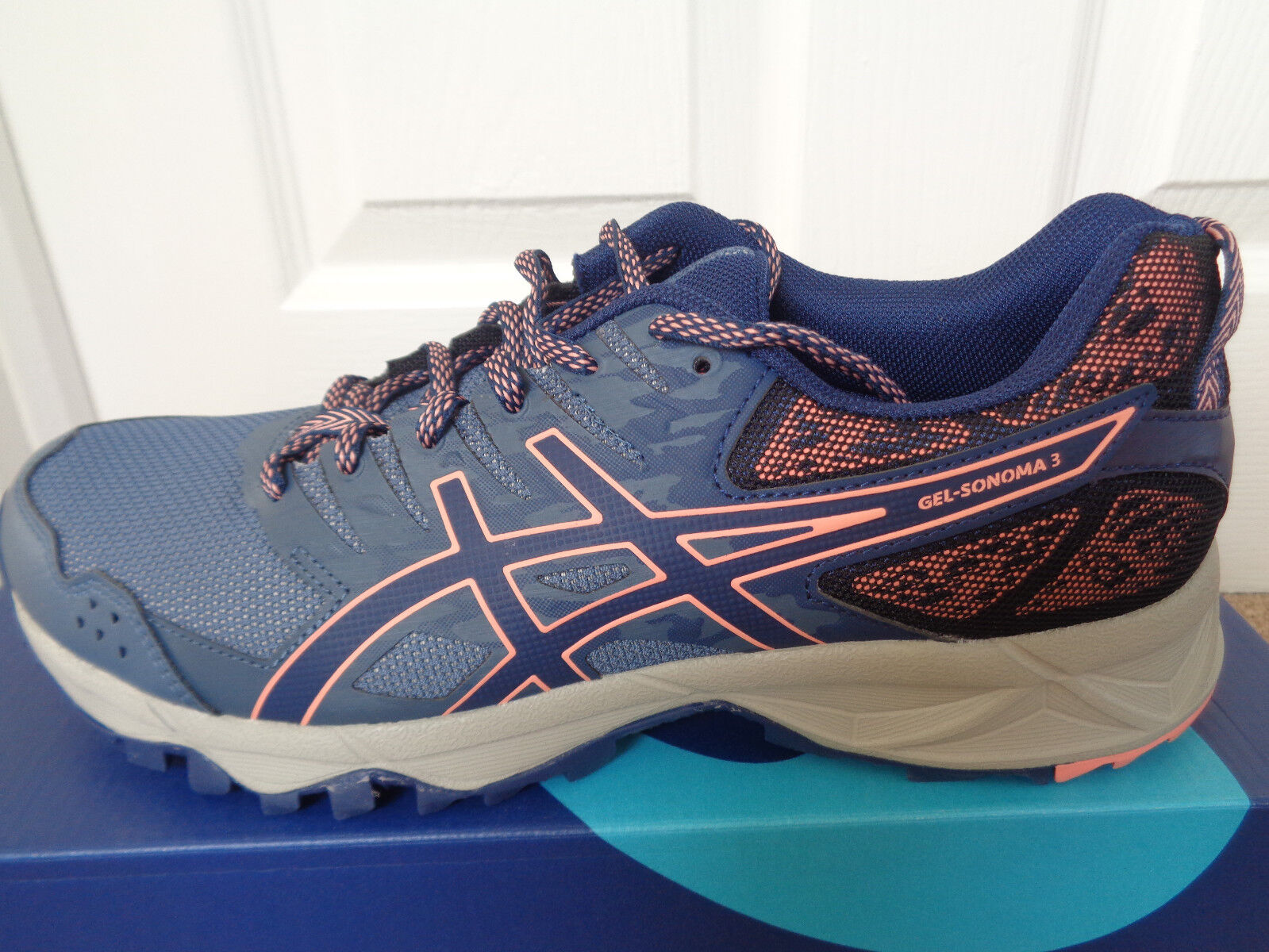 Asics Gel Sonoma 3 wmns trainers shoes T774N 5649 uk 7 eu 40.5 us 9 NEW+BOX