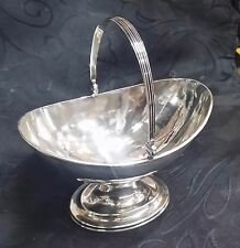 Antique Rare TIFFANY YOUNG &  ELLIS Silver Candy Bowl Basket Footed w. Handle