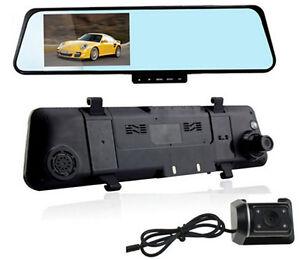 4-3inch-1080P-Dual-Lens-Car-DVR-Two-Camera-Blue-Mirror-Full-HD-H-264-140-Angle