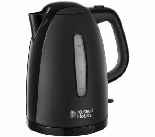 Russell Hobbs 21271 Textures Fast Boil Cordless Kettle Black