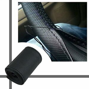 DIY-PU-Leather-Car-Auto-Steering-Wheel-Cover-With-Needles-and-Thread-Black-K