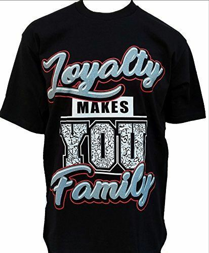 MENS SHOP PRIVATE LABEL Loyalty Makes You Family Mens Heavyweight T-Shirt Printe