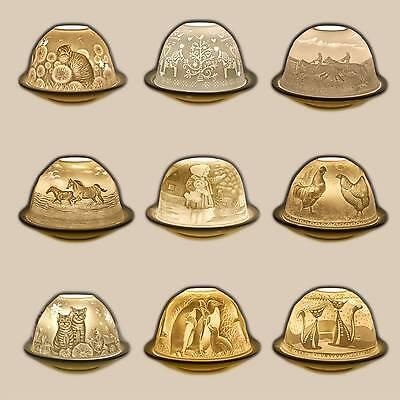 Gelernt Dome Light, Domelights Katzen Tiere Teelichthalter Windlicht Starlight Porzellan