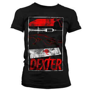 Officially-Licensed-Dexter-Signs-Women-T-Shirt-S-XXL-Sizes