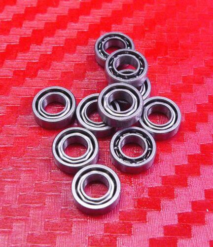 5x9x2.5 mm Chrom Metall Offen Typ Kugellager Kugellager 5 9 2.5 25 Stück MR95