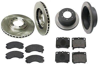 Front Brake Kit w// Rotors /& Semi Metallic Pads For Mitsubishi Montero Sport V6