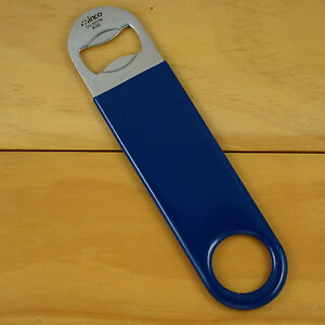 Stainless Pro Speed Blade Opener, Blue PVC, Open Your Bottles Like A Pro! NEW!!