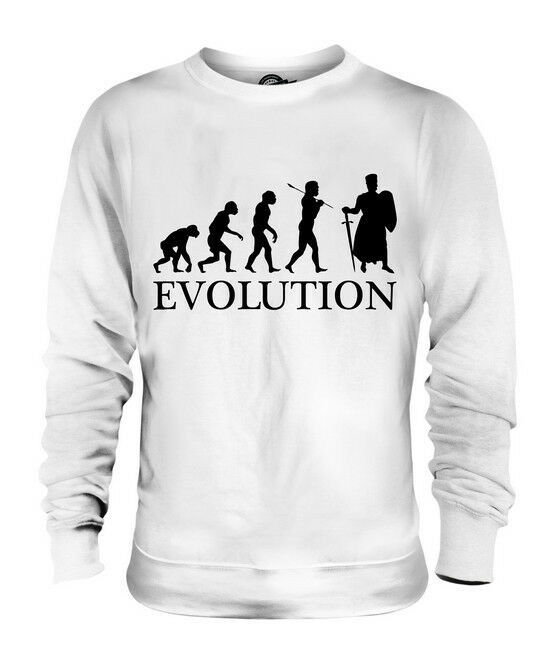 KNIGHT CRUSADE EVOLUTION OF MAN UNISEX SWEATER  Herren Damenschuhe LADIES GIFT OUTFIT