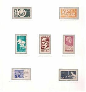 S18917) Brasilien Brazil 1963 MNH Neu All Complete Sets 7v