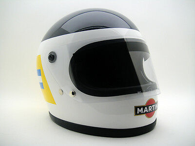 CARLOS REUTEMANN Vintage F1 REPLICA HELMET BELL STAR 70's GP Racer Car Racing