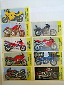 Motorcycles Honda Ducati Wrappers Inserts Chewing Bubble Gum Sticker Stickers Ebay