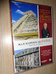 DVD-N-13-Alla-Scoperta-of-Maya-Masterpieces-Delle-Grandi-Civilta-039-Piero-Angela