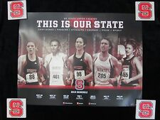 NC STATE WOLFPACK 2013 POSTER Schedule CROSS COUNTRY North Carolina St NCSU
