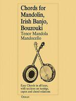 Chords For Mandolin Irish Banjo Bouzouki Tenor Mandola Mandocello 014006683