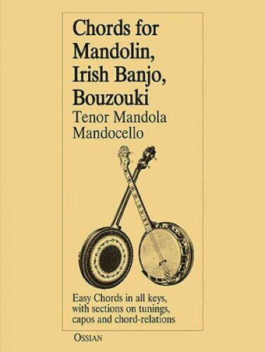 Chords for Mandolin Irish Banjo Bouzouki Tenor Mandola Mandocello NEW 014006683