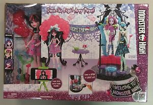 Welcome-To-Monster-High-Dance-The-Fright-Away-Draculara-Playset-DNX68-NEW