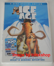Ice Age Special Edition 2-Disc DVD Brand New Factory Sealed Original Dolby