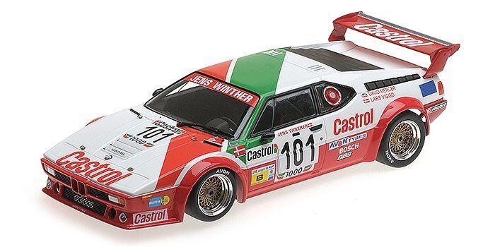 descuento BMW M1 M1 M1 Jens Winther Racing  101 24H Le Mans 1984 - 1 18 - Minichamps  Sin impuestos