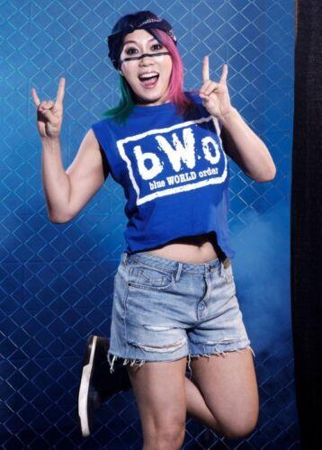 Select Size ASUKA 4x6 8x10 Photo ECW WWE #022