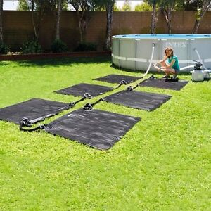 INTEX Poolheizung 120x120 cm Solarmatte Solarkollektor drei Stücke ...