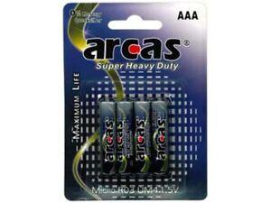 ARCAS-Longlife-R03-Micro-AAA-4er-Blister-Packung-NEU