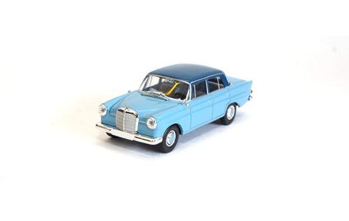 #13357 Brekina Mercedes 190c 1:87 W110 - hell-blau//dunkel-blau