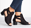 Roman-Womens-Open-Toe-Mid-Block-Heels-Ankle-Strap-Casual-Buckle-Mule-Sandal-Shoe thumbnail 3