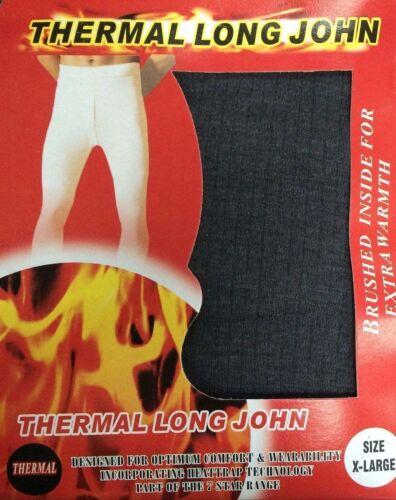 S M L XL XXL-Carbone Da Uomo Termico Mutandoni Set Completo Caldo Biancheria Intima Livello Base